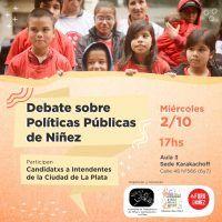 ELECCIONES: Debate platense sobre políticas públicas de Niñez